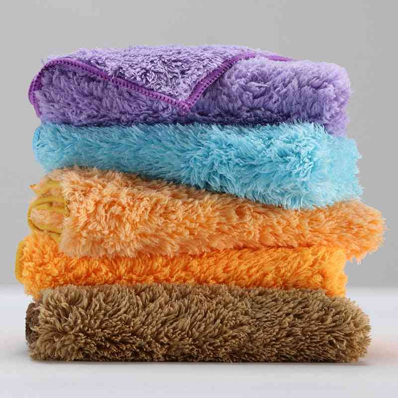 Microfiber Cloth Household Cleaning Cloth Towel