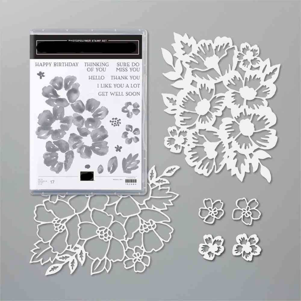 Decorative Embossing Paper Card