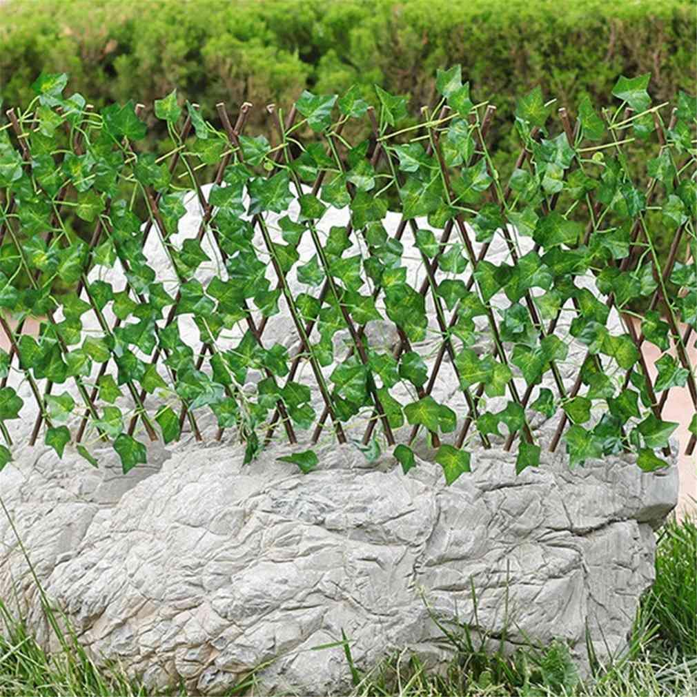 Artificial Garden Plant Fence