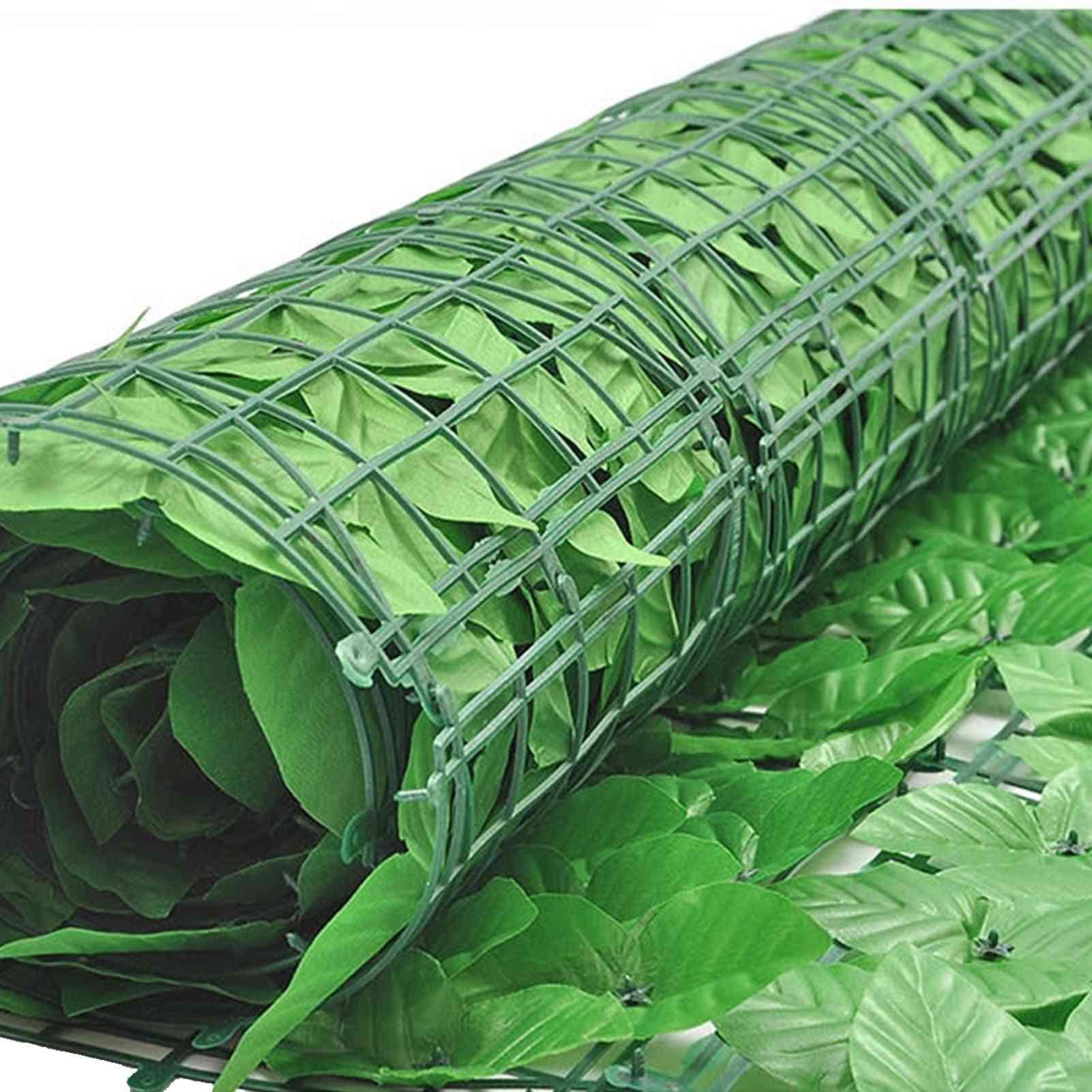 Grape Leaf Hedge Screening Roll