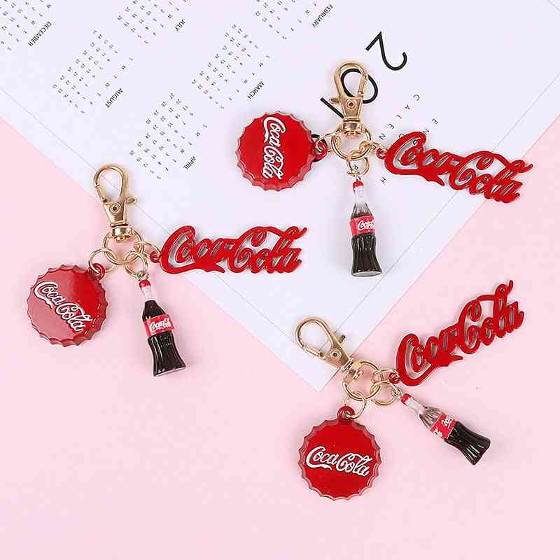 Bottle French Fries Cup Charms, Drink Food Pendant Earring