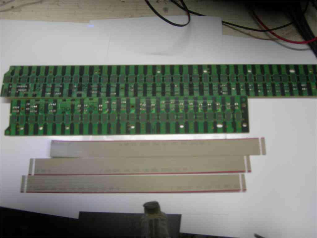 Yamaha Electronic Keyboard Keys Under The Conductive Rubber