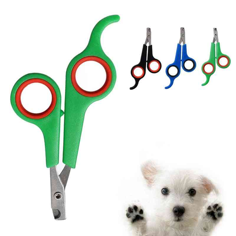 Stainless Steel Dogs Cats Claw Nail Scissors Pet Toe Care
