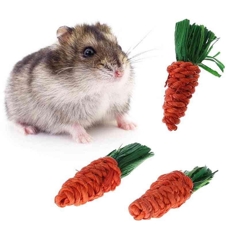 Carrot Shaped Rabbit, Hamster Chew Bite