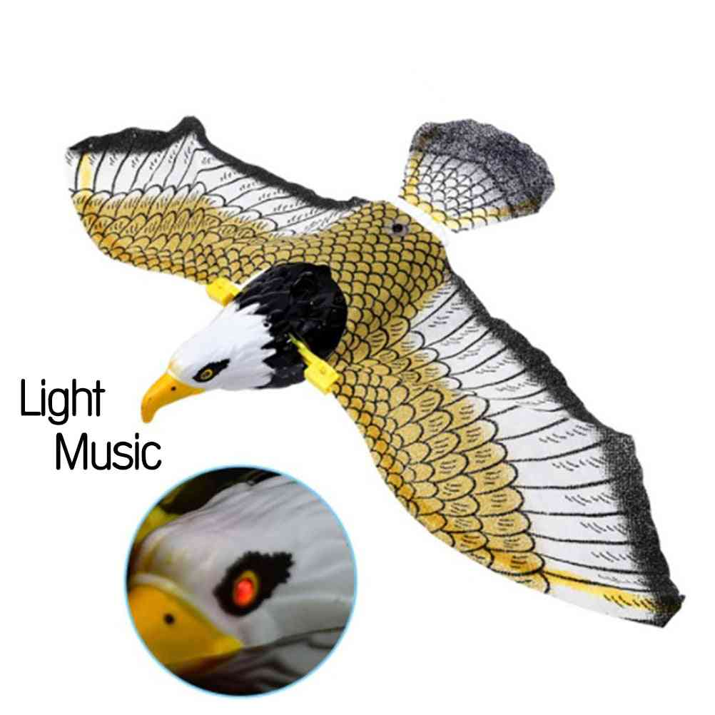 Luminous Bird With Music Repellent Hanging Eagle Flying