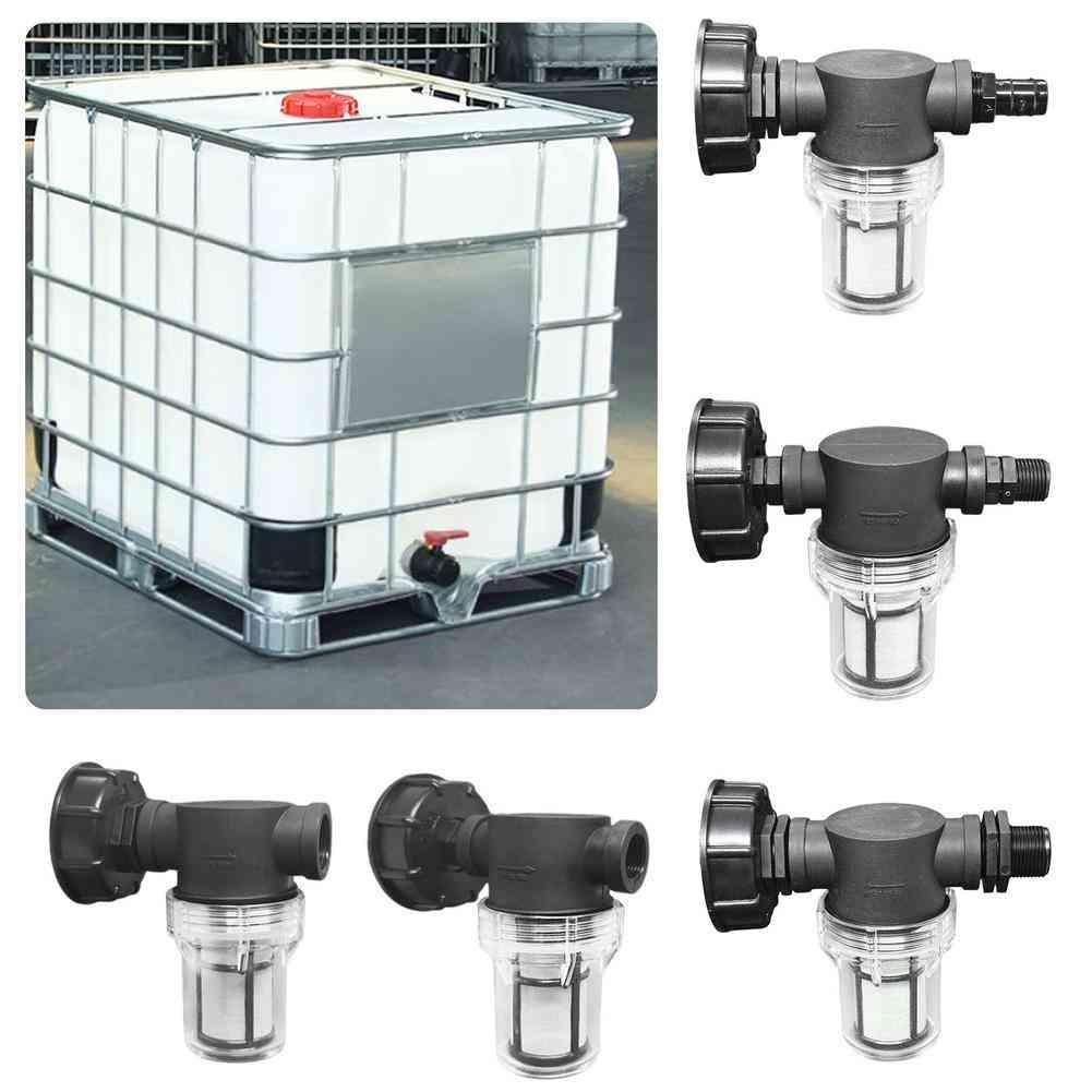 4-6 Garden Water Ball Valve,  Ibc Ton Barrel Filter Connector/joint
