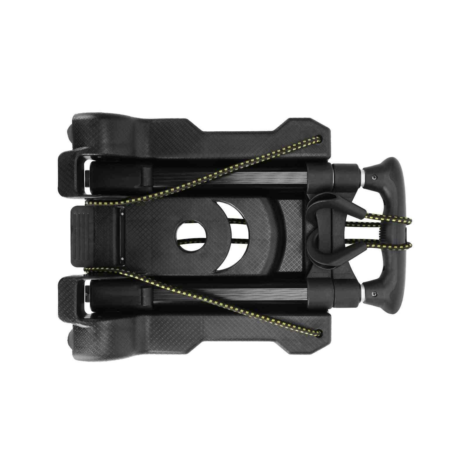 Garden Cart Foldable Aluminum Alloy Trolley, Travel Luggage Cart