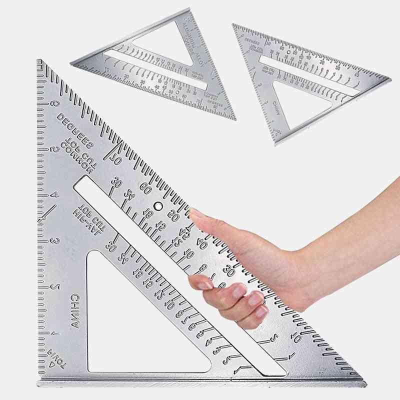 Aluminum Alloy Speed Protractor Miter Triangle Square Ruler