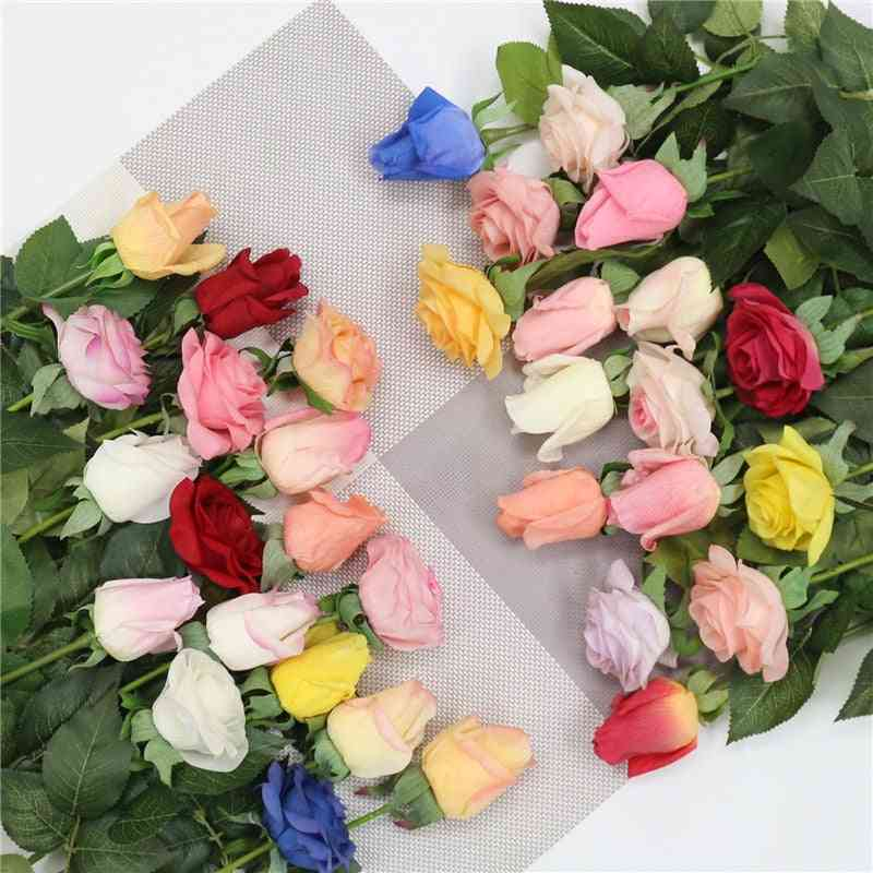 Fresh Rose Artificial, Real Touch Rose Flowers Home Decorations