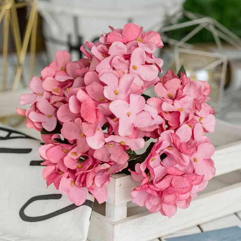 Artificial Silk Flowers Bridal Hand Bouquet Fake Flowers