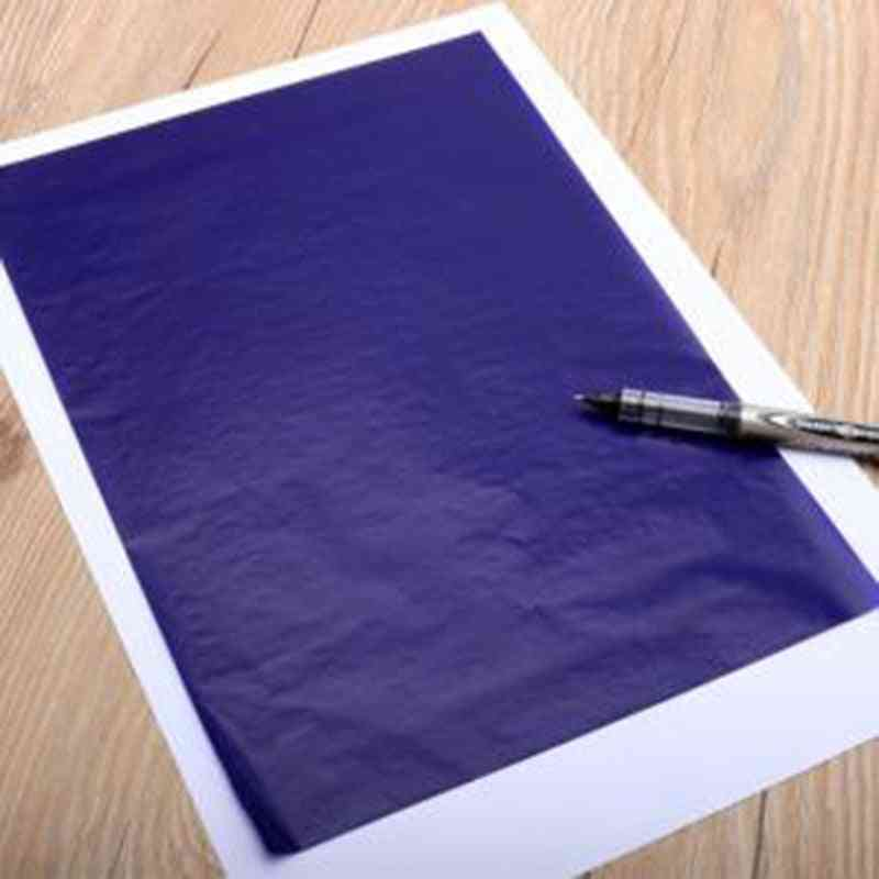 Double Sided Carbon Copier Stencil, Transfer Paper Stationery Supplies, Thin Type Finance Supplies