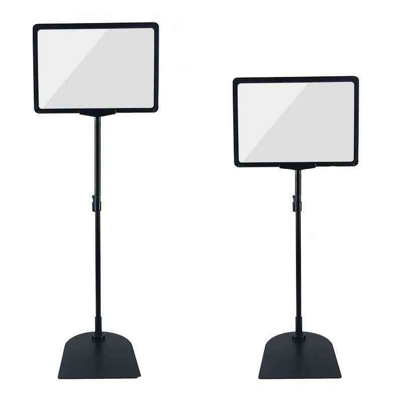 A4 Both, Adjustable Up Double-sided Table Poster Display