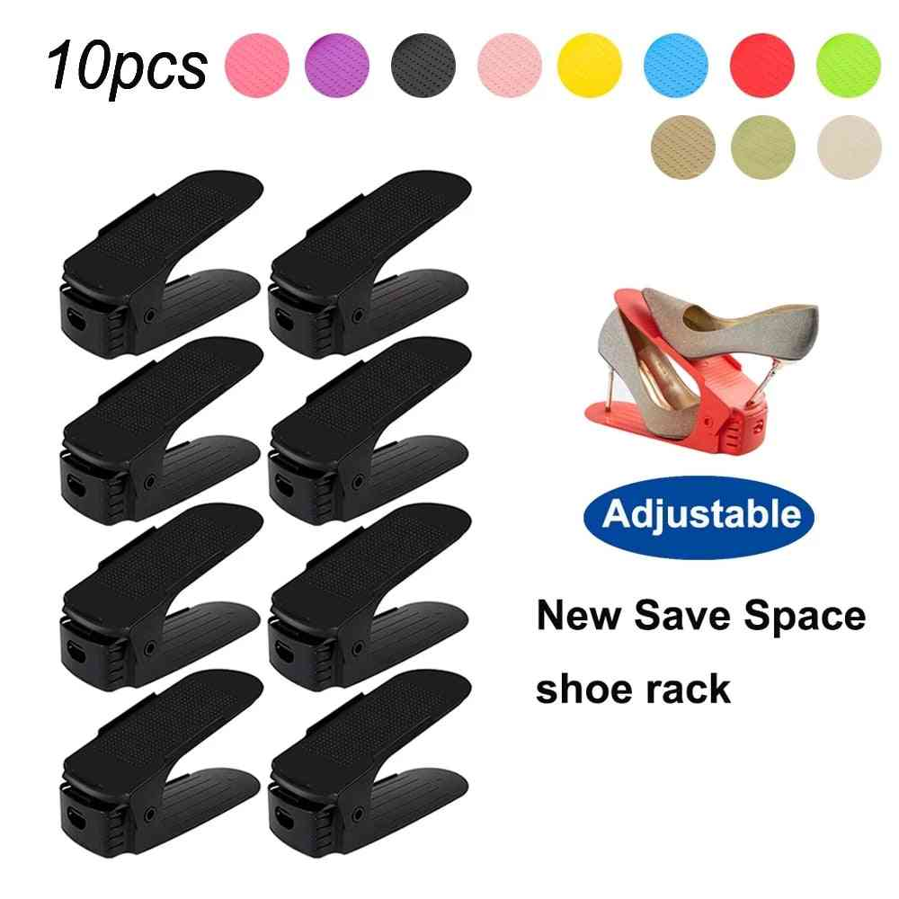 Cabinet Closet Stand Shoe Storage Space Save