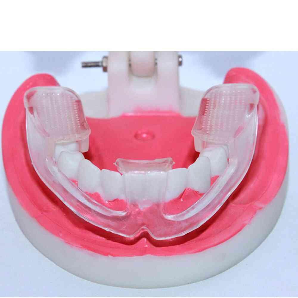 Silicone Dental Mouth Guard Bruxism Sleep Aid Night Teeth
