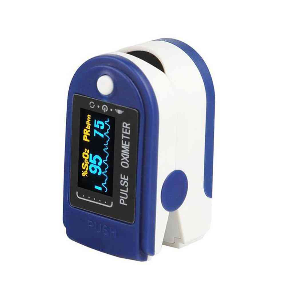 Portable Mini Finger Pulse Oximeter