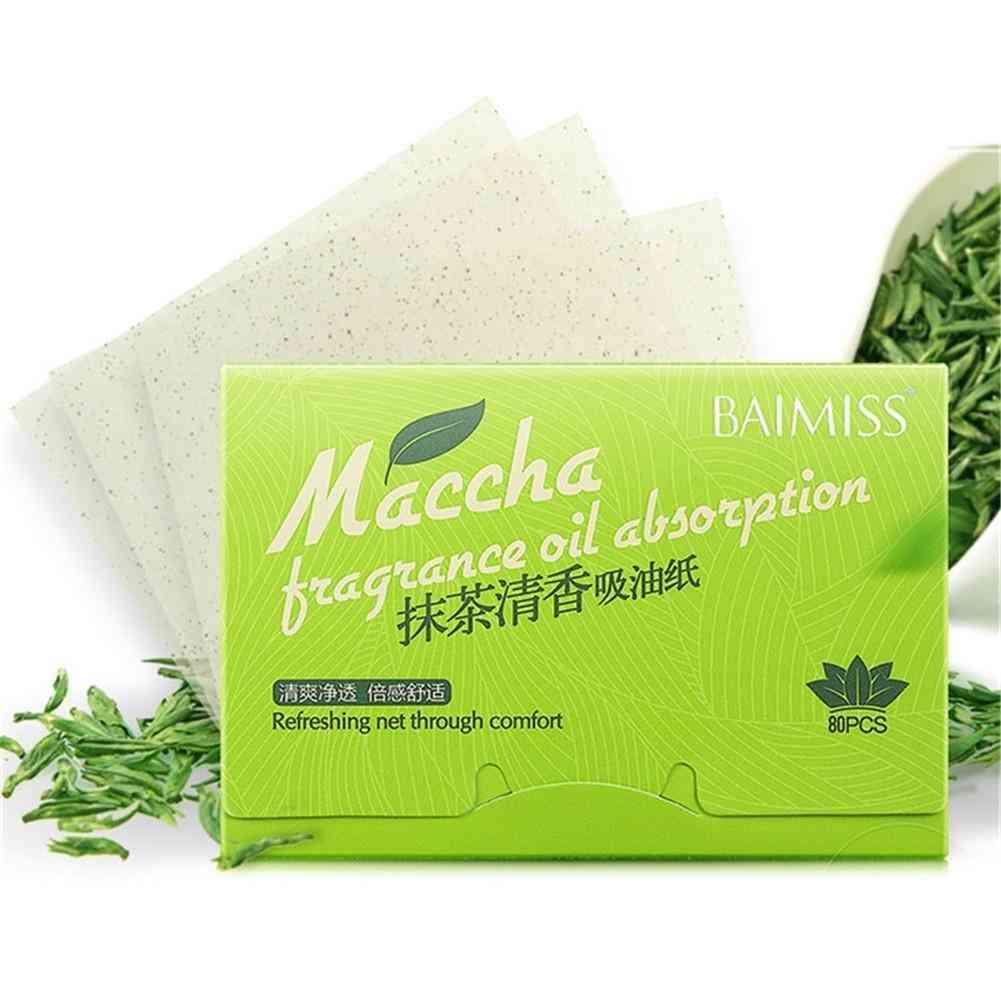 Green Tea Facial Absorbent Paper Farewell Oil