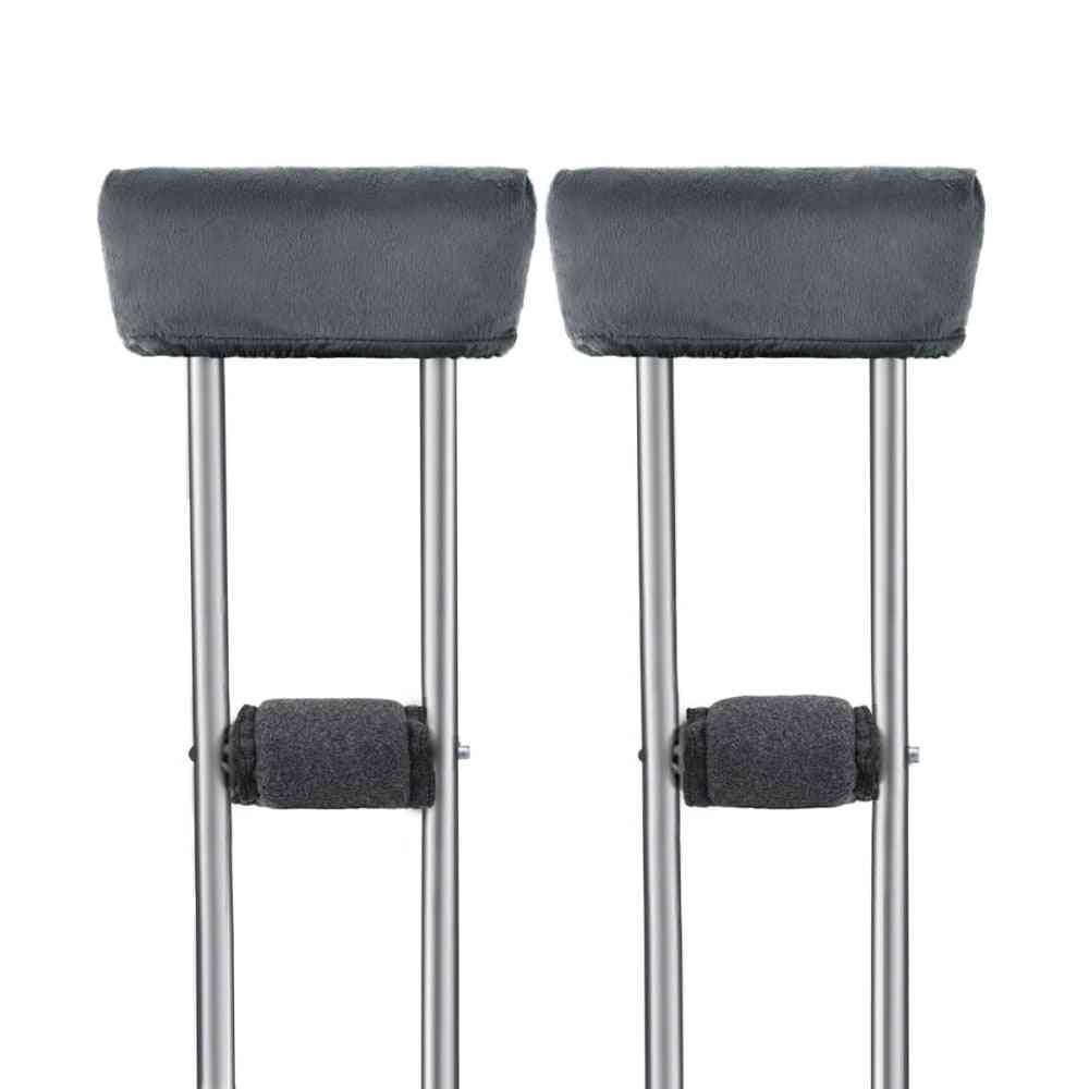 Healifty 4pcs Crutch Pads Universal Underarm