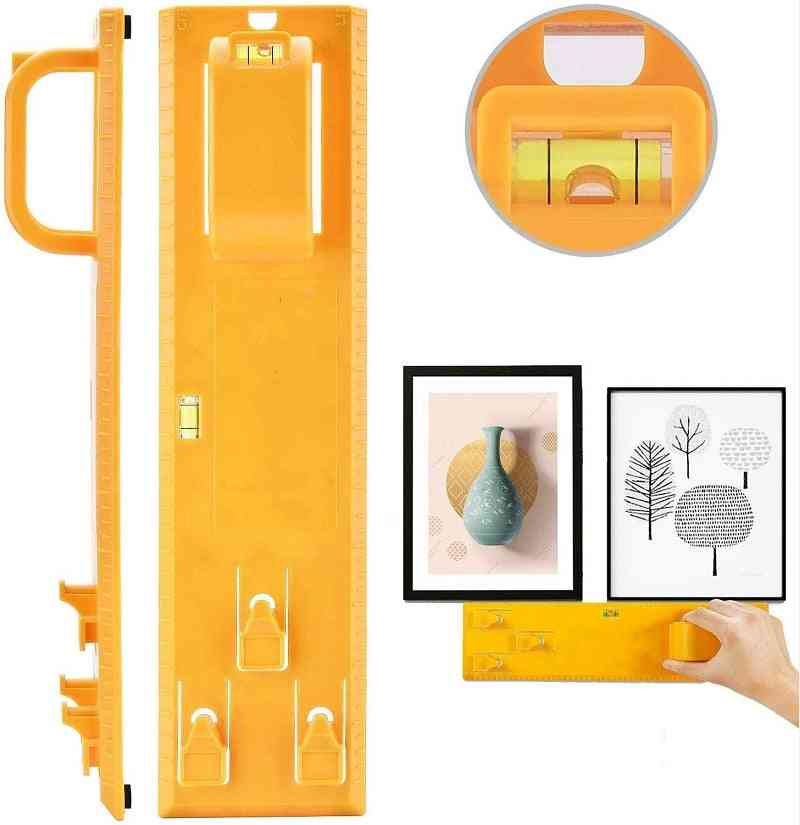 Picture Hanging Kit Tool,  Hanger Tools With Level Suitable For All Wall Materials