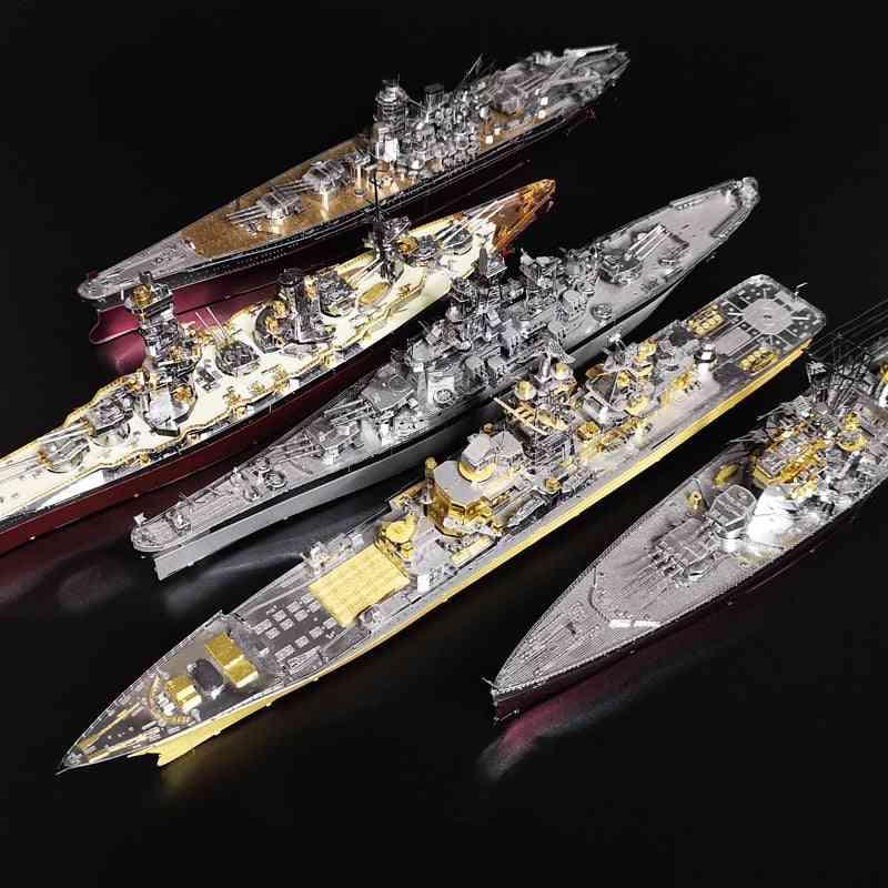 3d 3 Dimensional Assembled Yamato Battleship