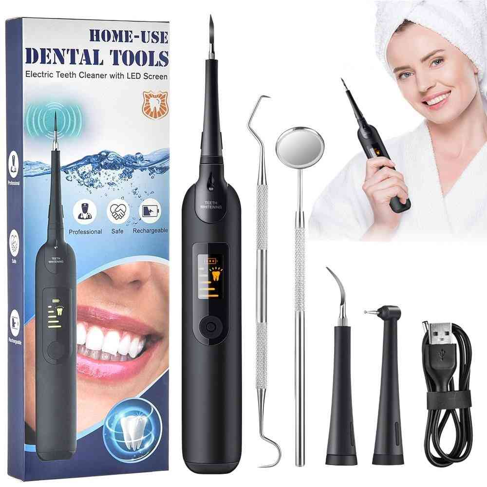 Household Dental Calculus Remover Electric Tartar Remover