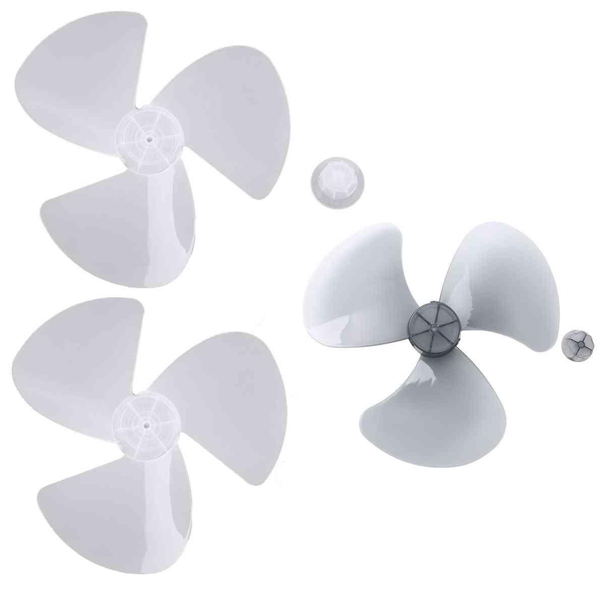 Durable Low Noise Pp Plastic Three Leaves Impeller Fan Blade