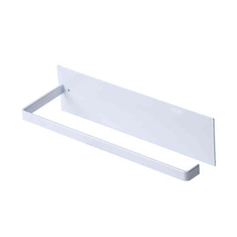 Wall Mounted Kitchen Racks, Non-perforated Paper Towel Holder