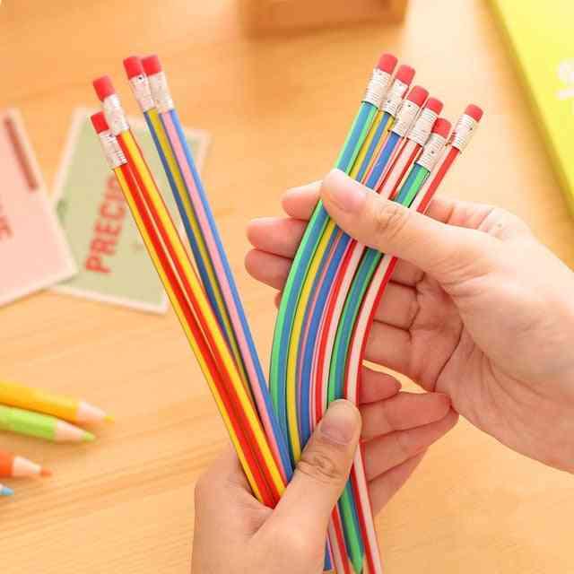 Flexible Soft Pencil With Eraser