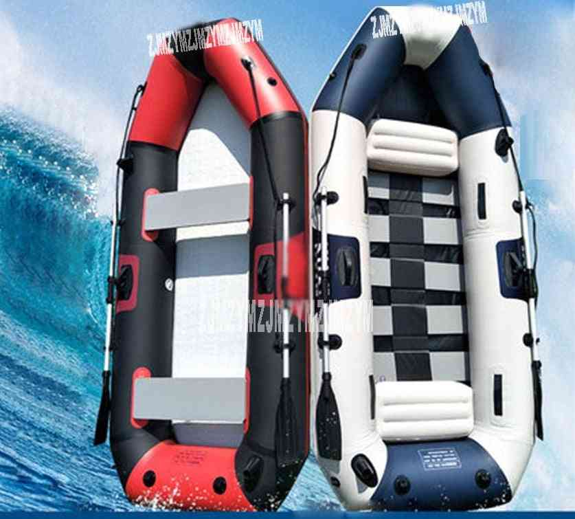 5 Adults Super Thickening Inflatable Rowing Boat Thickness 0.7mm Boat Inflatable Rowing Boat With Spare Parts 265*125*31 Cm
