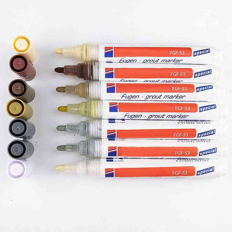 Tile Grout Coating Marker, Wall Floor Ceramic Tiles Gaps Repair Pen