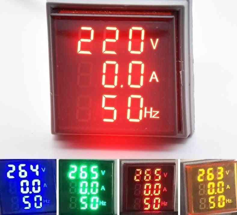 Led Voltmeter Indicator Light Lamp