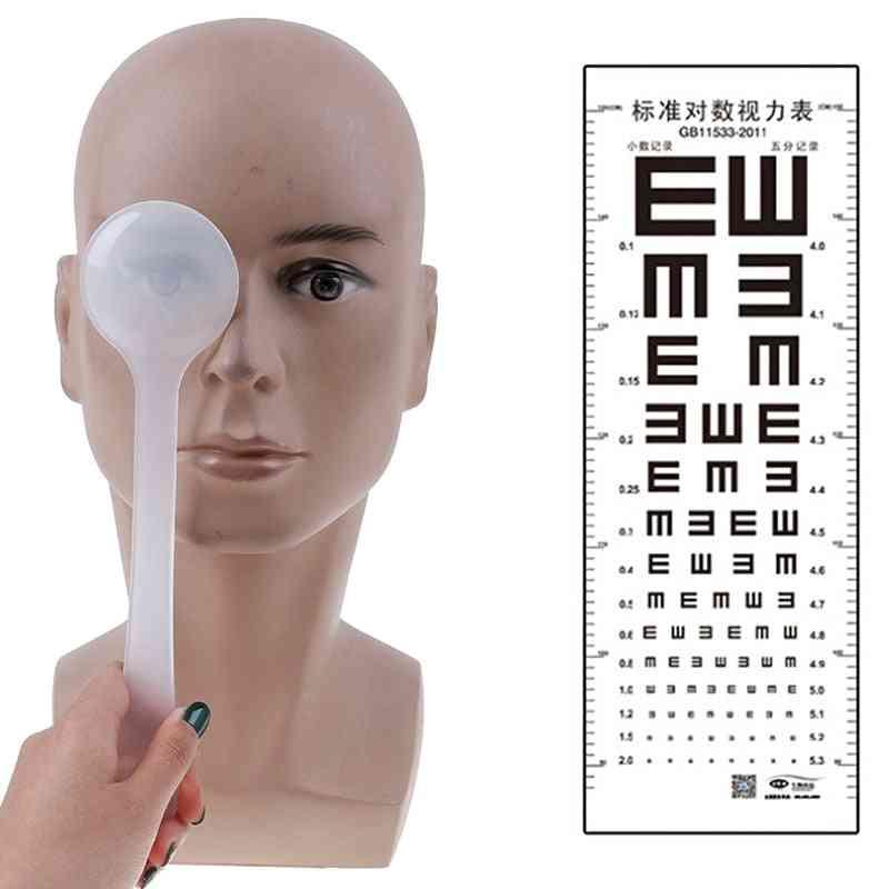 Professional Handheld Optometry Squint Eye Plate