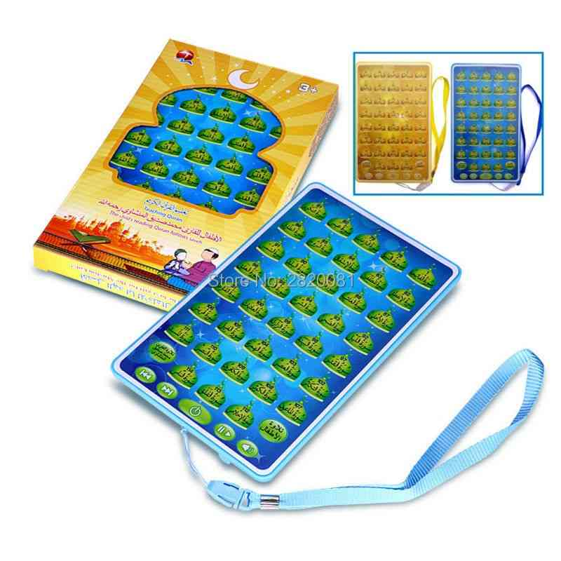 Arabic Language, Quran Child Follow Story Machine, Touch Screen Tablet, Pad, Islamic Kid Education Toy