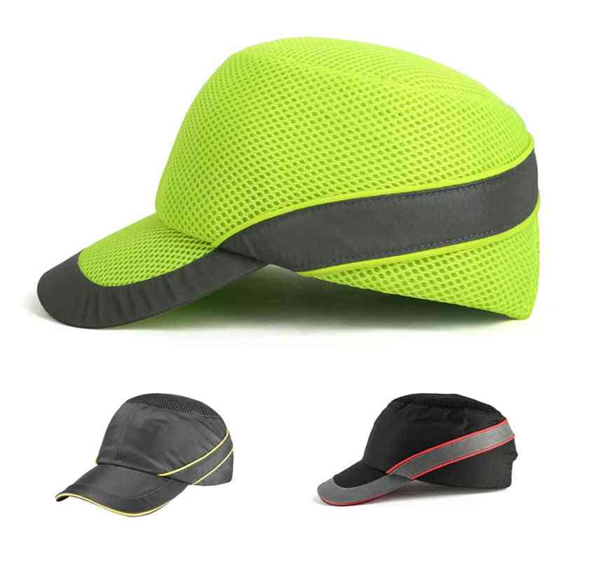 Bump Cap Work Safety Helmet  Fashion Casual Sunscreen Protective Hat