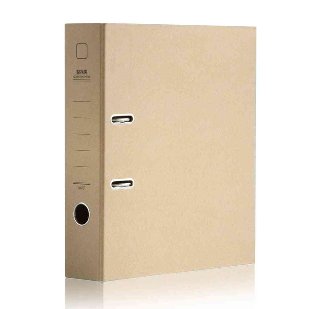A4 Metal Ring Binder, Folder, Clipbar, Lever Arch File