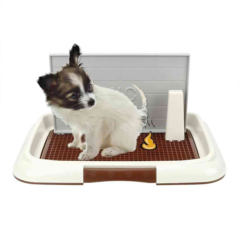 Portable Pet Training With Pillar Toilet Mat Training Potty Dog Pad