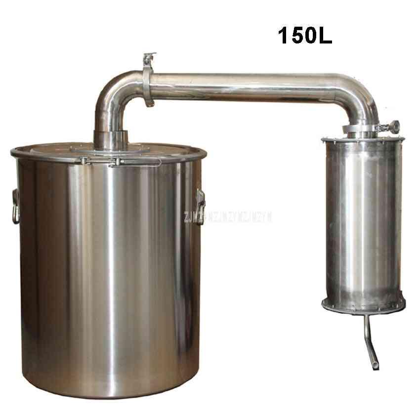 150l Stainless Steel Wine Brewing Machine Distiller Liquor Distillation Household Wine Making Equipment With Water Pump