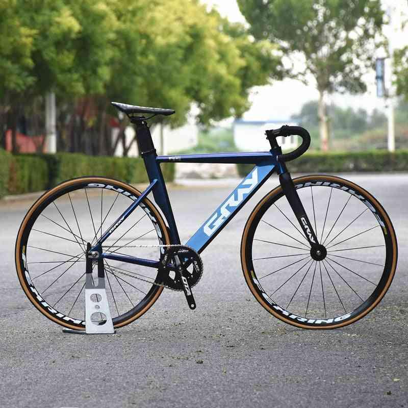 Single Speed Bike Aluminium Alloy Frame Carbon Fork