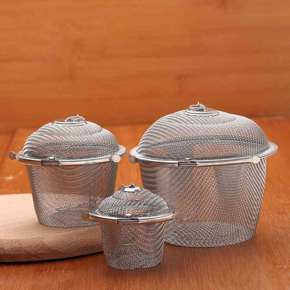 Soup Taste Spice Box & Basket Brine Hot Pot Slag Separation Colander Strainers