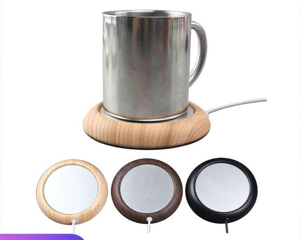 New Usb Warmer Pad. Usb Wood Grain Cup