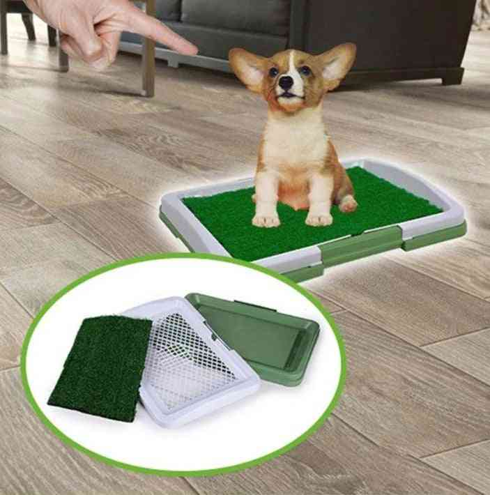 Artificial Grass Bathroom Mat For Puppies And Small Pet