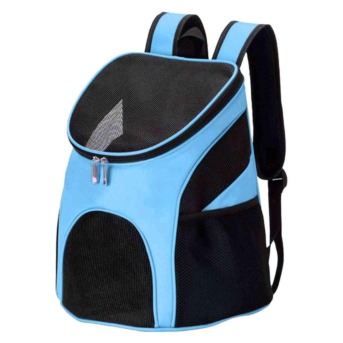 Foldable Mesh Pet Carrier Backpack Bag Breathable Dog /cat  Pet Carrier
