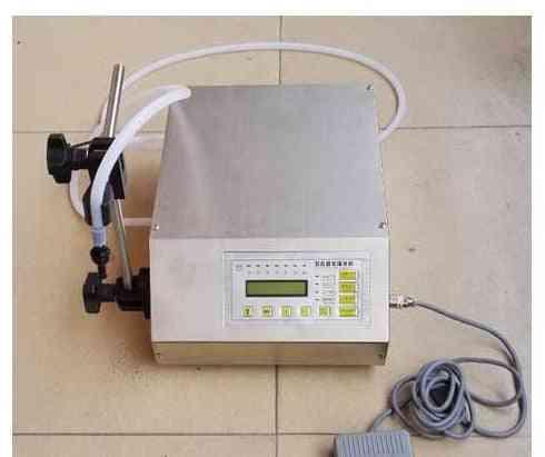 Stainless Steel Adjustable Foot Quantitative Liquid Filling Machine