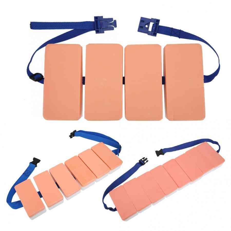 Swimming Back Floating Foam Board, Float Belt Waistband Adjustable