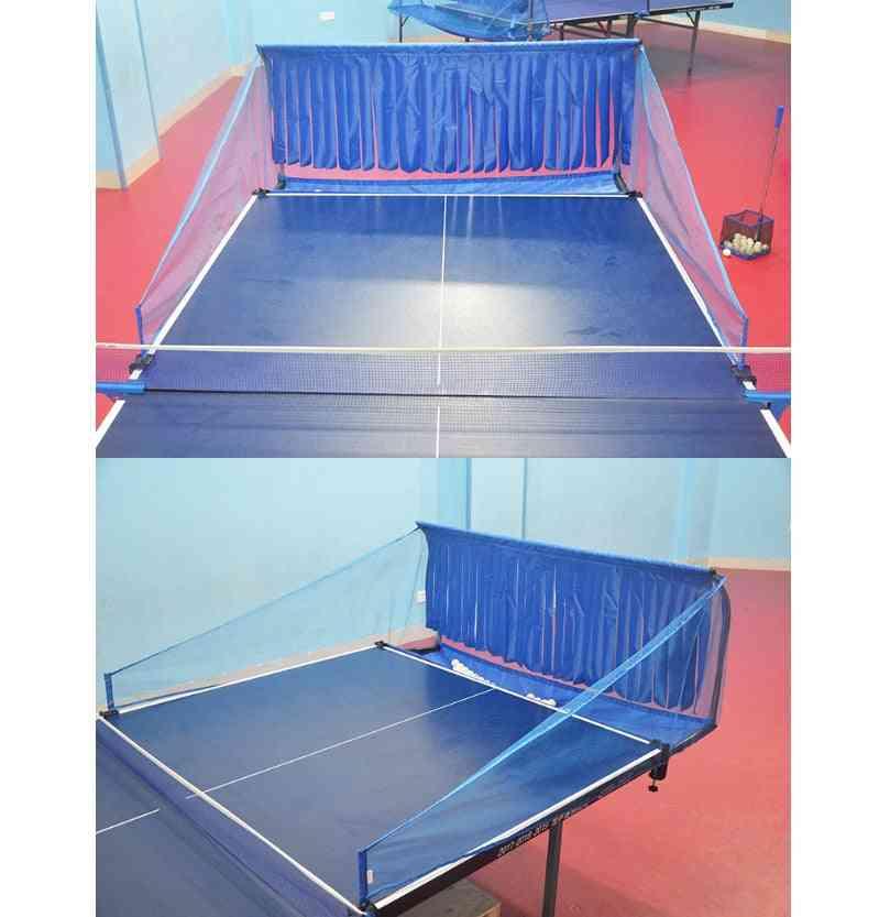 Portable Table Tennis Ball Net Serve Machine Training Net Rack