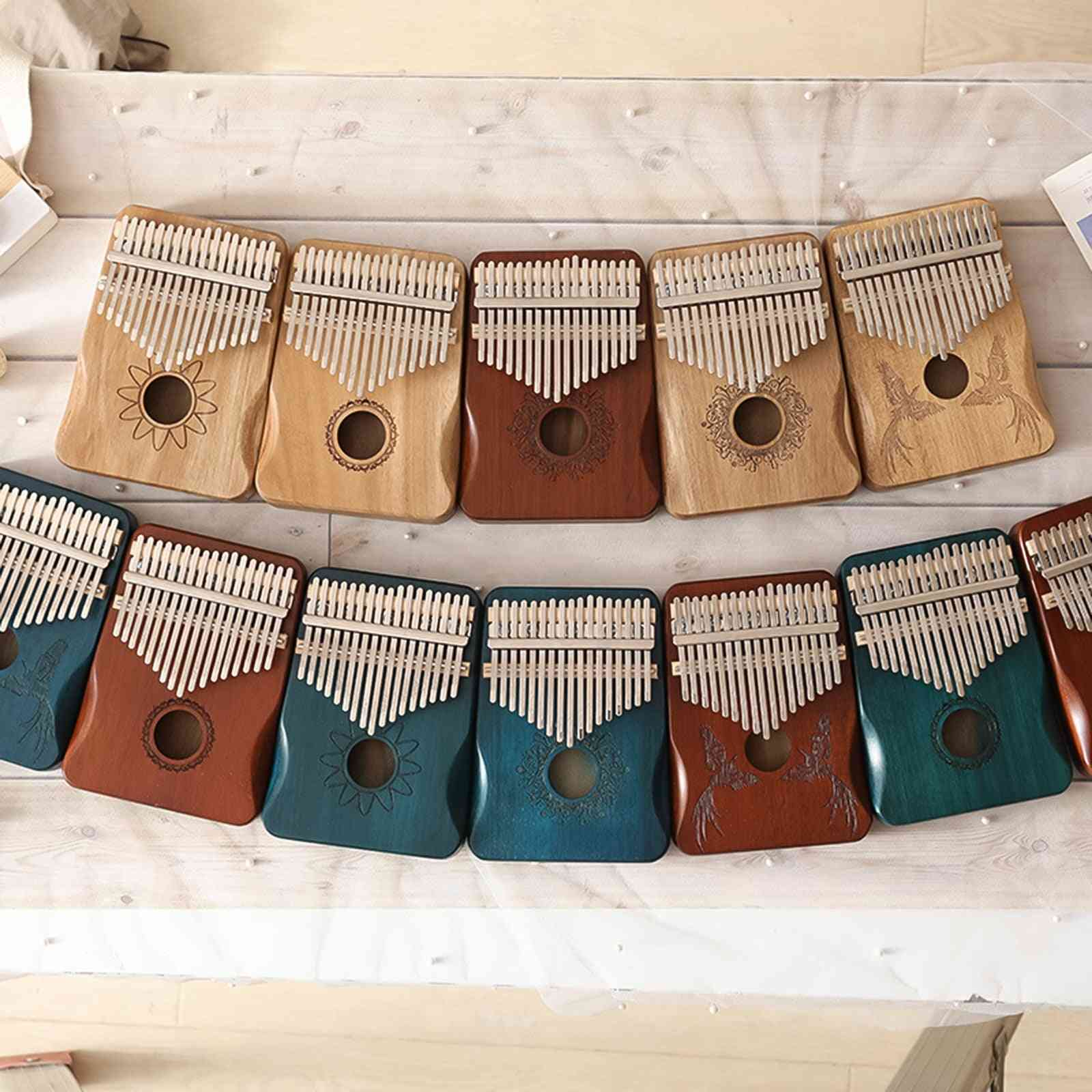 High Quality Wooden Kalimba Thumb Piano Body Musical Instruments
