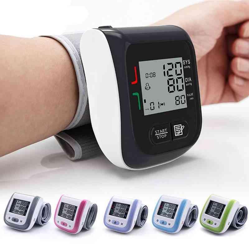 Medical Digital Lcd Wrist Blood Pressure Monitor