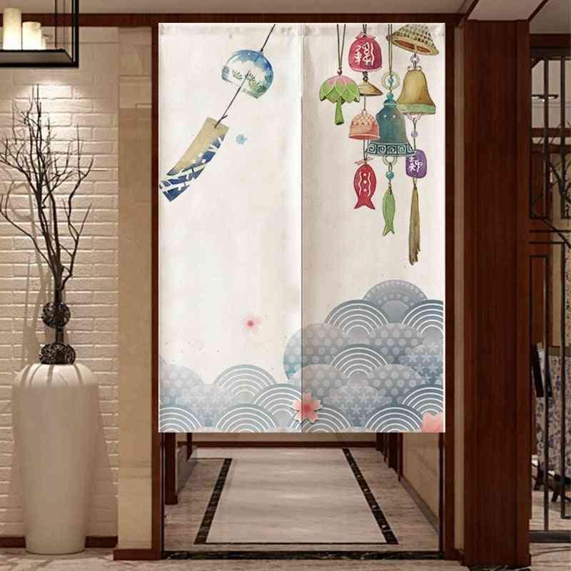 Door Curtain Split Entrance Hanging