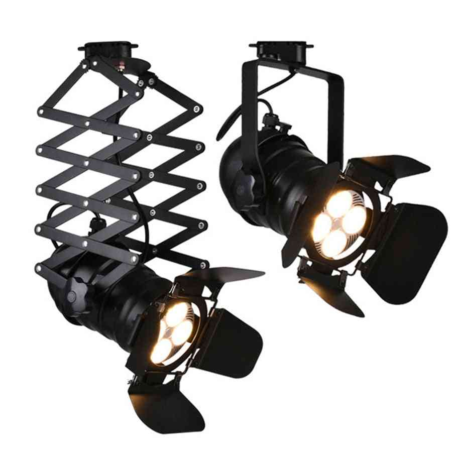 Industrial Led Track Light. Flippers Stage Light