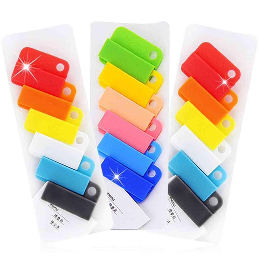 Colorful Easy Clip Mini Cute Paper Clips Folder Memo Paperclips