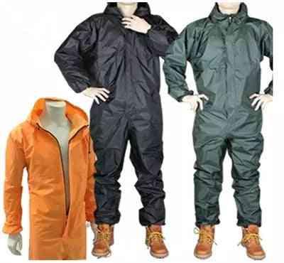 Men And Women Fission Raincoat